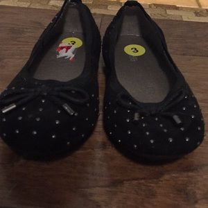 Girls Size 3 Black beaded Micheal Kors